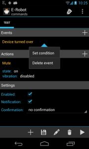 Set condition