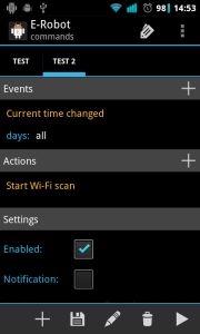 Wi-Fi scan in every minute