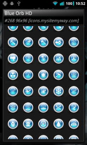 Select an Ipack icon